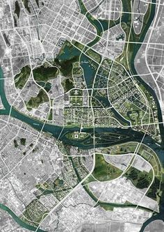 Shunde City: Master Plan | OMA Location: Shunde City, Guangdong, China Map: 1. 2. 3. 4. 5. 6.
