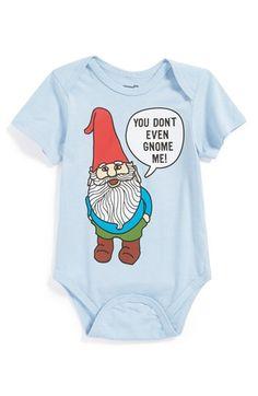 'Gnome' Bodysuit (Baby Boys)