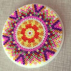 sandylandya@outlook.es Mandala hama perler by Binemor