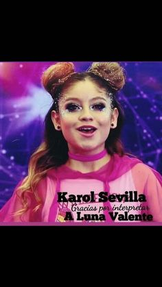 Obrigada Karol Sevilla por interpretar a Luna Valente 😊❤️ Nutella, It Cast, Disney, Top, Instagram, Quad Roller Skates, Thanks, Te Amo, Sun Moon