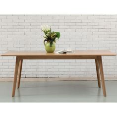 Magnus Dining Table - Solid Oak - 200x90cm