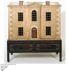 Antique doll house 1783. Now this is a beauty. Maybe I can live there