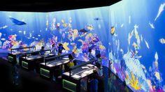 Sketch Aquarium | teamLab / チームラボ