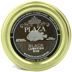 Can be used in a variety of applications, from traditional garnishes to more advanced fusions This product is shelf stable, so it can be stored at room temperature, but should be served chilled Plaza Premium Amazon Quality Lumpfish Caviar, Black, 3.52 Ounce