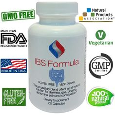 Natural IBS Treatment -  Save an additional 12% off our already reduced price when you sign up for auto-ship. #IBS