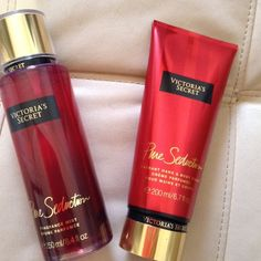 Pure seduction Bundle Victoria secret Pure seduction fragance mist 250 ml, fragance hand & body cream 200 ml. Victoria's Secret Makeup