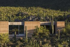 Tucson Mountain Retreat: Completed Summer 2012 Project Description A dream to reconnect his roots into the awe inspiring Sonoran Desert, along with a deep seeded desire to indulge in a love of music as lifestyle, provided the initial...