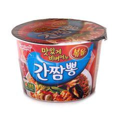 [SamYang] Gan Jjambbong Cup Ramen x3,6,9 Cups Spicy Instant Korean Noodle Ramyun #SamYang #SpaghettistyleSpicyKoreanInstantNoodle