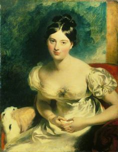 Margaret, Countess of Blessington  by Thomas Lawrence. The Wallace Collection. Date painted: 1822. National Trust Collection.