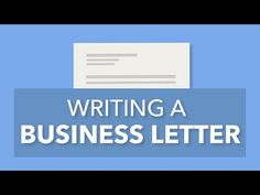 Need business letter format example? This page has formal letter format examples and professional letter samples. Check it out! Business Letter Format Example, Formal Business Letter, Business Writing, Business Video, Online Business, Business Correspondence, Letter Sample, Lettering Design, Helping People