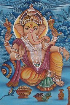 Latest HD Photos, images, HD wallpapers for mobiles # Jai Ganesh, Shree Ganesh, Om Gam Ganapataye Namaha, Lord Ganesha Paintings, Lord Murugan, Tanjore Painting, Hindu Deities, Hindu Art, Indian Gods
