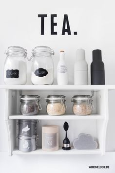 scandinavian nordic kitchen ❤ interior ideas for small kitchens and white rooms! TEA shelf