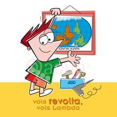 "Campaña ""Vols sumar-te"", Colectivo Lambda Valencia. Revuelta- LGTB"