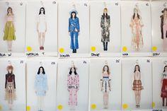 Vivetta AW16-Catwalk, polaroid photo collection format <3