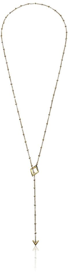 Sam Edelman Lariat Y-Shaped Necklace, 35' -- For more information, visit now : Jewelry