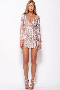 Cocktails And Confetti Dress, Bronze, $69 + Free express shipping http://www.hellomollyfashion.com/cocktails-and-confetti-dress-bronze.html