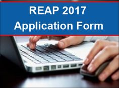 REAP 2017 Application form filling procedure available here and for more visit at http://www.entrancezone.com/engineering/reap-2017-application-form/