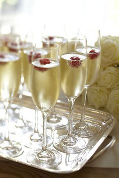 Celebrate special occasions with glasses of bubbly