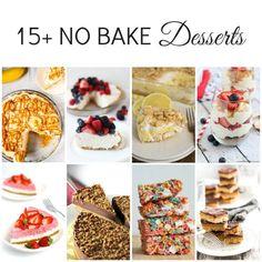 18 #NoBake Sweet Treats | Perfect for hot #summer days! | www.dreamingofleaving.com | @jaebizzle