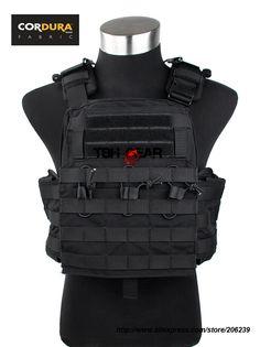 TMC Cherry Plate Carrier CPC Vest MOLLE Military Cordura Vest Black Tactical Vest Ver.2016+Free shipping(SKU12050656)