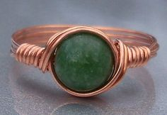 Jade ring from etsy
