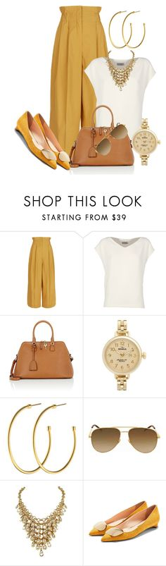 """Work Wear - Casual Friday"" by sonyastyle ❤ liked on Polyvore featuring Sonia Rykiel, Alberto Biani, Maison Margiela, Shinola, Dyrberg/Kern, Yves Saint Laurent and Rupert Sanderson"