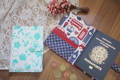 DIY | Porta passaporte