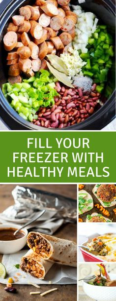 25 Easy Make Ahead Freezer Meals for New Moms Make Ahead Freezer Meals for New Moms – once the baby arrives you'll have no time to cook but eating healthily is really important – so take the time to stock your freezer with these healthy meals. Healthy Frozen Meals, Healthy Recipes, Healthy Meal Prep, Baby Food Recipes, Healthy Dishes, Sandwich Recipes, Healthy Foods, Vegetarian Recipes, Make Ahead Freezer Meals