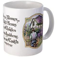 Garden mug when the irises are in bloom!