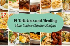 Enjoy some of SparkPeople's favorite slow cooker chicken recipes.
