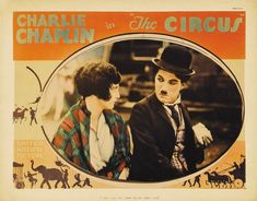 The Circus is a 1928 silent film written and directed by Charlie Chaplin The film stars Chaplin Al Ernest Garcia Merna Kennedy Harry Crocker George. Vintage Advertising Posters, Vintage Advertisements, Vintage Posters, Movie Poster Art, Film Posters, Charlie Chaplin, Silent Film, Vintage Movies, Cards