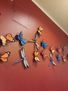 Wall decorations at Legoland Hotel Denmark