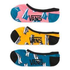 Kick Back Canoodle Socks 3 Pack Cute Socks, Women's Socks, Vans Logo, Vans Outfit, Sock Shop, Kick Backs, Vans Off The Wall, Liner Socks, No Show Socks