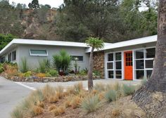 Mid Century Modern Home Exterior Paint Colors midwest modern landscaping | mid century, modern landscaping and