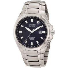 Citizen Men's BM7170-53L Eco-Drive Titanium Watch: Watches: Amazon.com