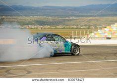 22.04.2017 Rustavi, Georgia. Rustavi international motorpark. Georgian Drift Series 2017 First Stage. Sopi Khojava BMW E46 Drifting