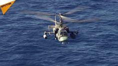 """Militärhubschrauber """"Admiral Kusnezow"""" haben Schießübungen durchgeführt"""