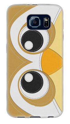 Amazon.com: Brown, White and Gold {Cute Farm Animals Owl} Soft and Smooth Silicone Cute 3D Fitted Bumper Back Cover Gel Case for Samsung Galaxy S6: Cell Phones & Accessories