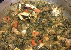Haitian Légumes Recipe By Carmelle Mozard Cookpad - - jpeg Haitian Food Legume, Haitian Food Recipes, Cuban Recipes, Donut Recipes, Guyanese Recipes, Easy Recipes, Hatian Food, New Orleans Recipes, Legumes Recipe