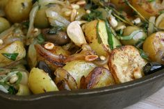 I think this is going to be part of my Passover Seder menu.............    Olive Potatoes