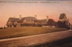 'Andros Hills', the Thomas Gerald Condon estate designed by Grosvenor Atterbury c. 1906.
