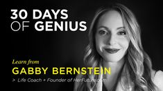 Gabby Bernstein on CreativeLive | Chase Jarvis LIVE | ChaseJarvis https://youtu.be/vTAOgtrIi8I via @YouTube