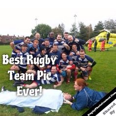 Best #Rugby Team Pic Ever!