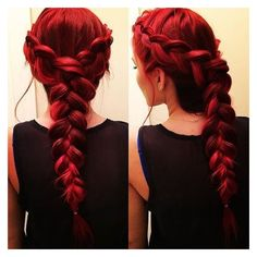 8 Romantic French Braided Hairstyles for Long Hair, You Cannot Miss ❤ liked on Polyvore featuring hair