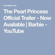 The Pearl Princess Official Trailer