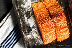 Sesame Seed Crusted Trout on TheModelFoodie.com