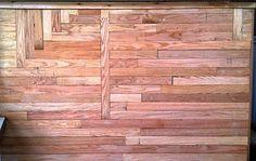 Amazing Custom Reclaimed Wood Wall by RandRDesignworks on Etsy