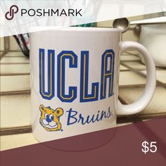 UCLA Bruins coffee mug UCLA bruins coffee mug. Graphic on both sides Officially Licensed Collegiate Products Other
