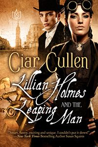 At the cusp of the 20th century, a fanciful Lillian Holmes wanted to be a true detective, but in fact she was a sheltered 26 year old heiress with a tormented past, a taste for mystery and... morphine.   Then she saw him. Leaping from her neighbor's 2nd story window, a beautiful stranger.   Except, the Leaping Man was far more than he seemed. A wanton creature of darkness, he would threaten far more than Lillian's life. He would take both her heart & soul. And she would rejoice in it.