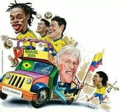 Sorry Colombia but you guys did awesome! World Cup 2014, Fifa World Cup, James Rodriguez, My Sister In Law, Gareth Bale, Soccer Players, Fc Barcelona, Manchester United, South America